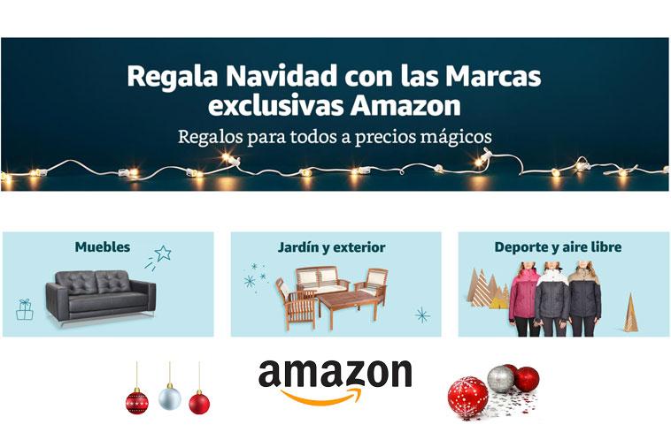 ¡Amazon! Regala Navidad con las marcas exclusivas