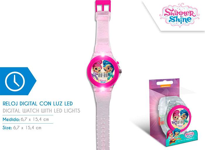 Reloj Disney Shimmer & Shine barato