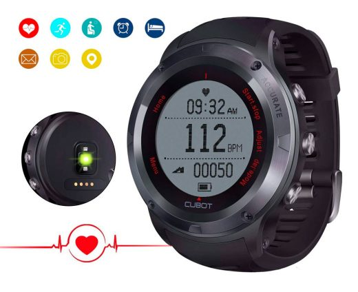 smartwatch cubot f1 fitness tracker barato chollos amazon blog de ofertas bdo
