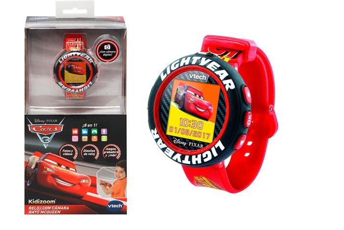 Reloj Cars 3 Rayo McQueen Vtech barato