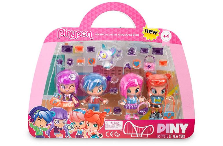 4 muñecas Pinypon by Piny barato