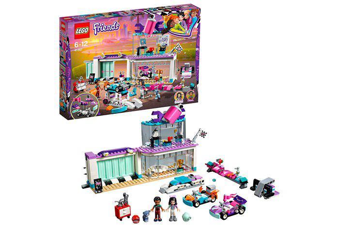 Lego Friends Taller de tuneo creativo barato