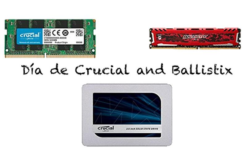 Día de Crucial and Ballistix: memoria y almacenamiento