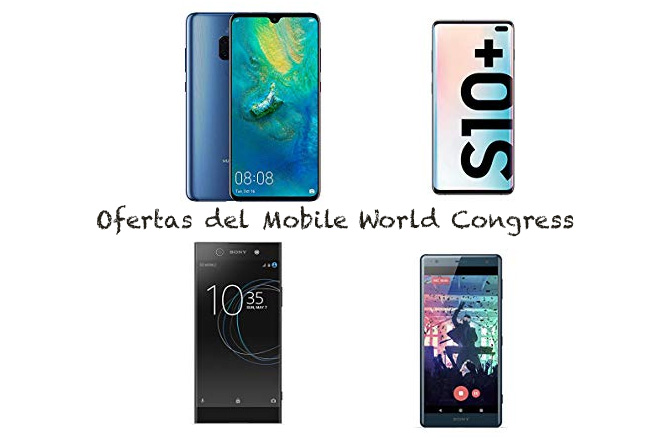 Ofertas Mobile World Congress en Amazon