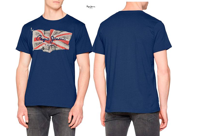 camisetaPepe Jeans Flag logo barata