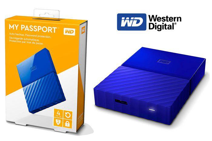 Western Digital My Passport 4TB barato
