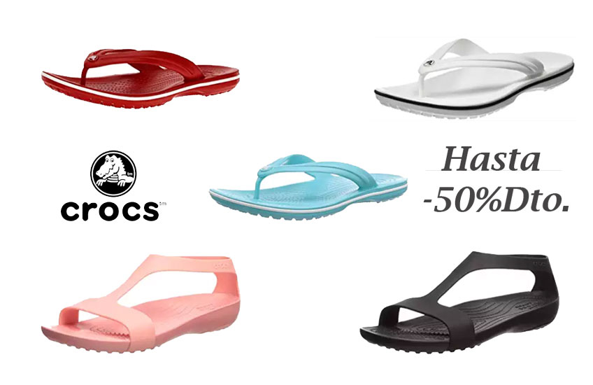 Chanclas Crocs baratas