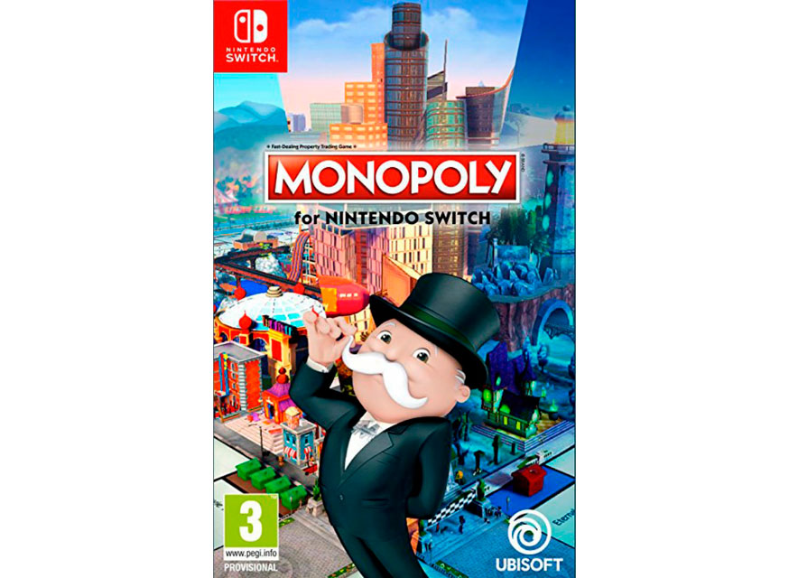 Monopoly Nintendo Switch barato
