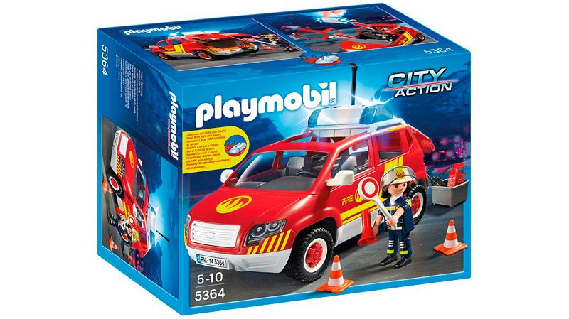 Playmobil Bomberos coche barato