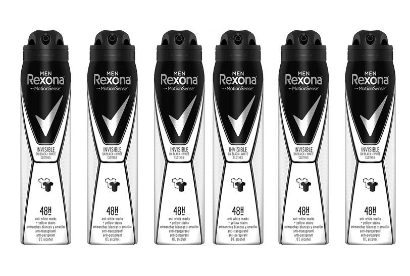 Desodorante Rexona pack 6 barato