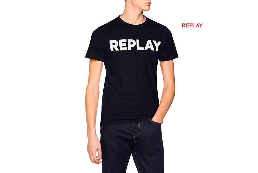 camiseta Replay barata