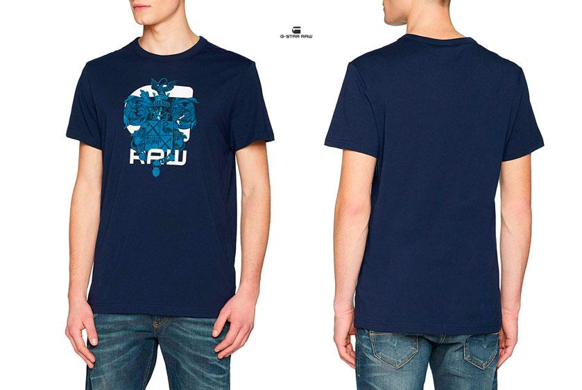 camiseta G-Star Raw Deoloran barata