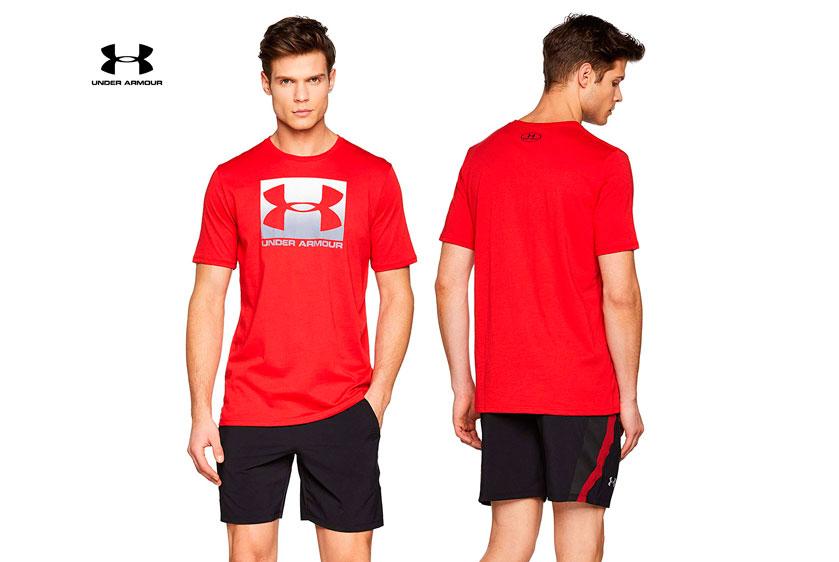camisetaUnder Armour UA Boxed barata