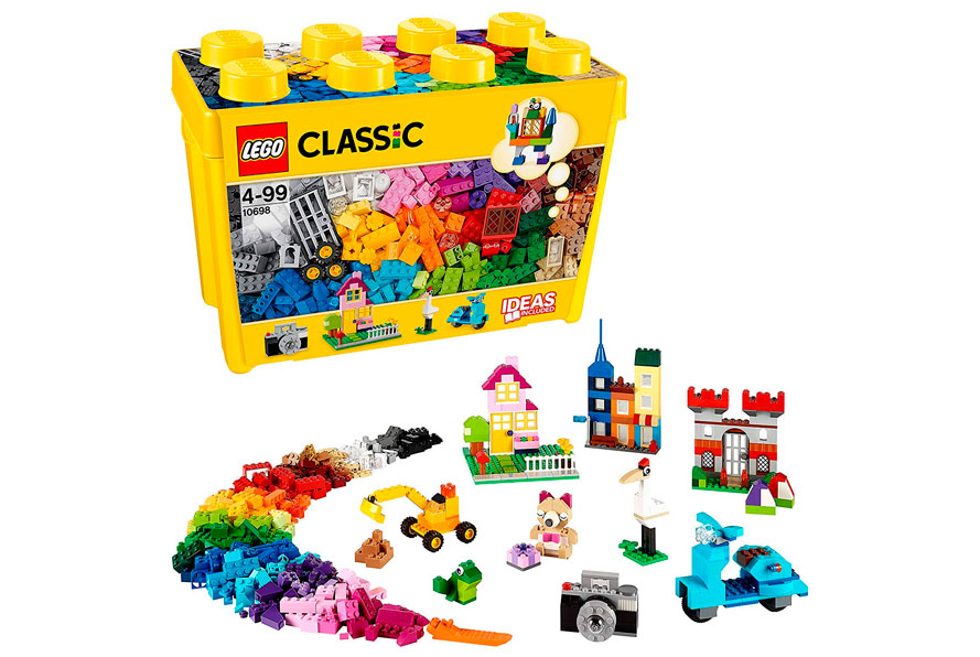 Lego Classic caja de ladrillos barata.