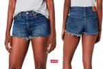 ¡Chollo! Pantalones cortos Levis 501 baratos 22,45€ -59% Descuento