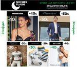 Noches Flash en El Corte Inglés con hasta -40% marcas ¡Sólo hasta las 10h!