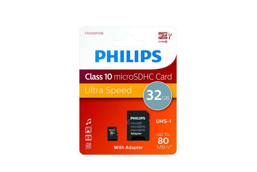 Philips MicroSDHC 32GB barata