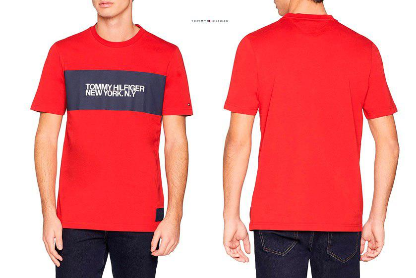camiseta Tommy Hilfiger Big Scale barata