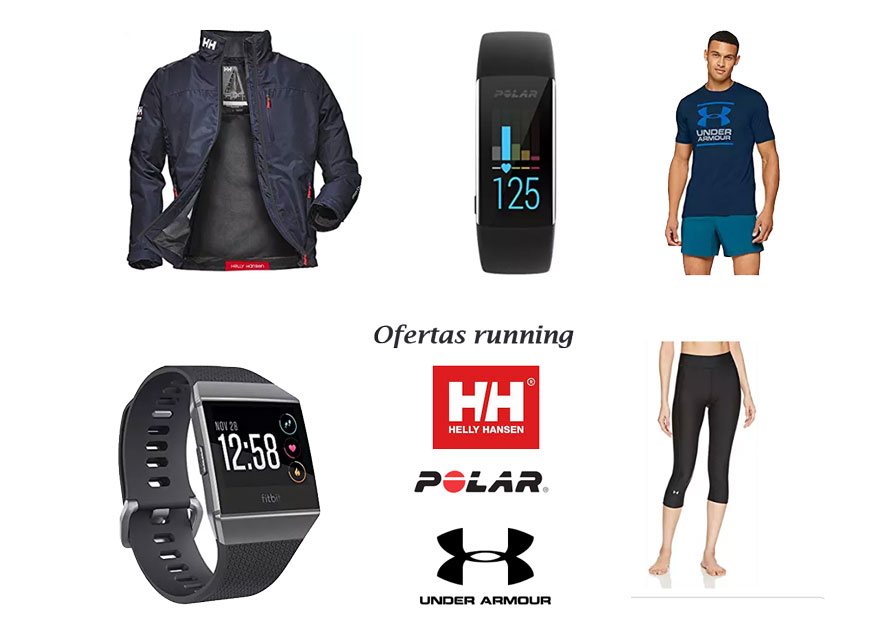 Oferta productos running