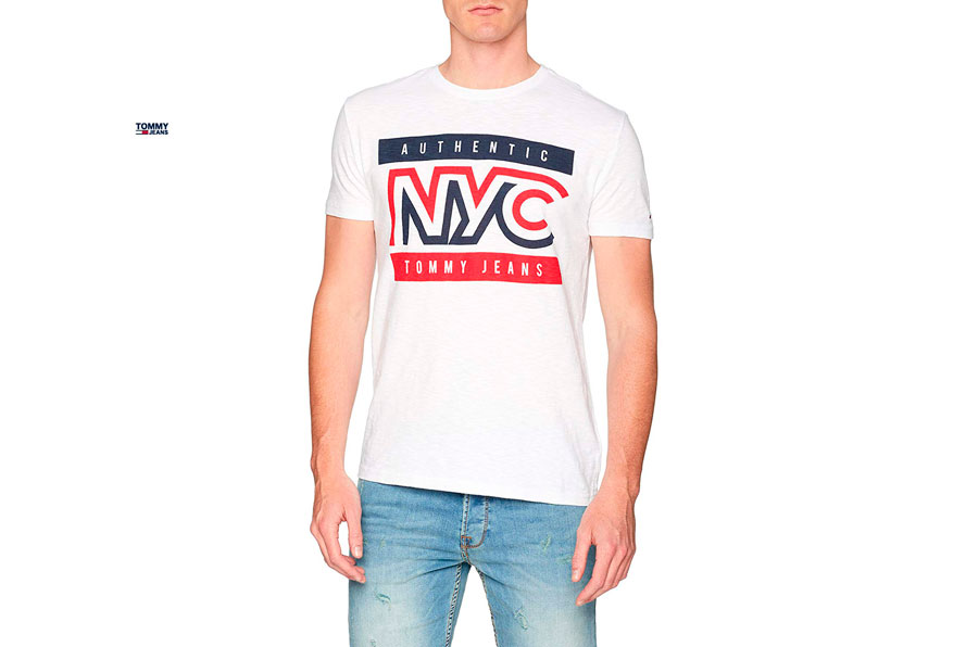 camiseta Tommy Jeans Authentic barata