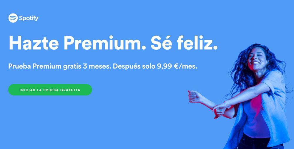 spotify premium 3 meses gratis