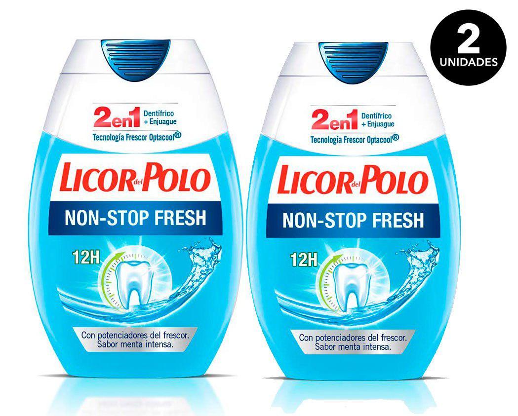 pasta de dientes Licor del polo pack 2 barato