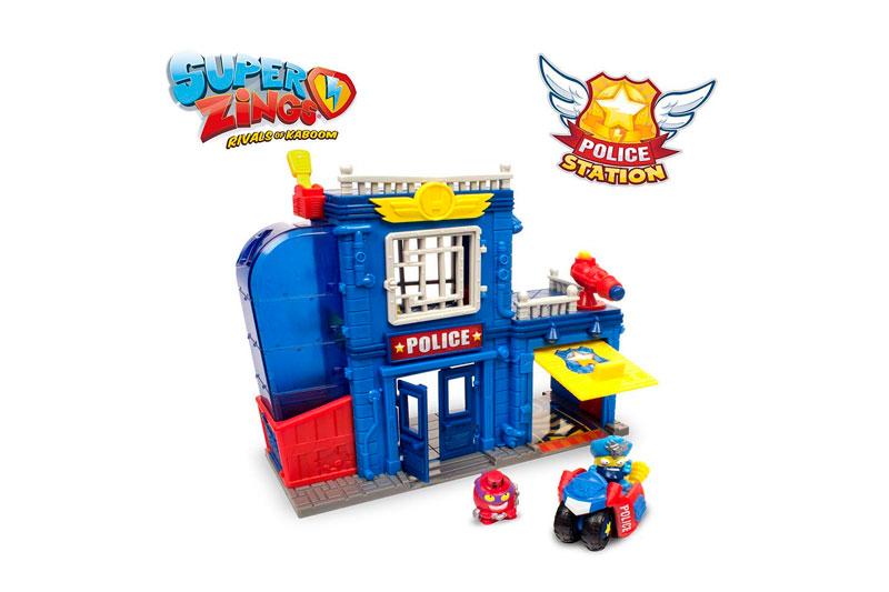 estación Policía Superzings barata