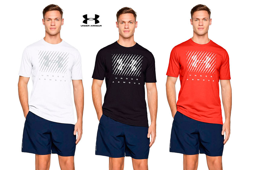 camiseta Under Armour UA Big logo barata