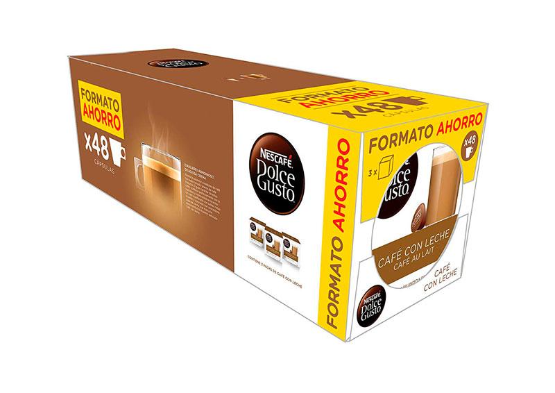 NESCAFÉ Dolce Gusto Café con Leche 48 cápsulas baratas