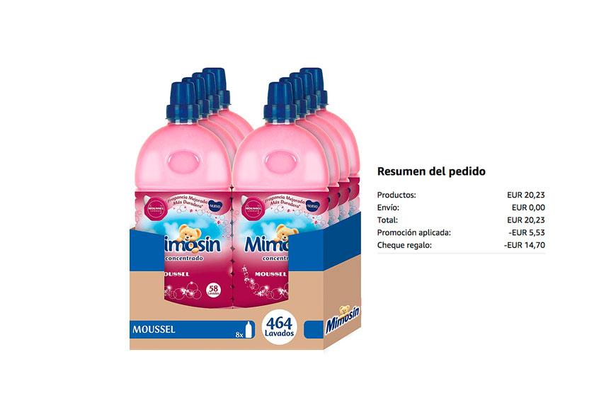 Pack 8 Mimosin concentrado Moussel barato