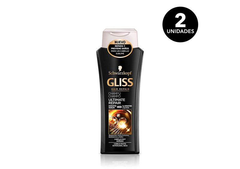 pack 2 Schwarzkopf Gliss Ultimate Repair barato