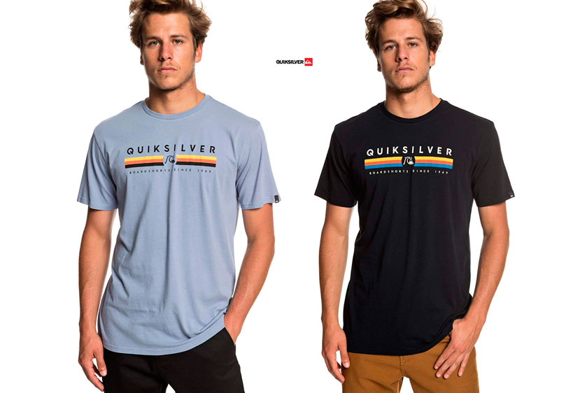 camiseta Quiksilver Get Bizzy barata