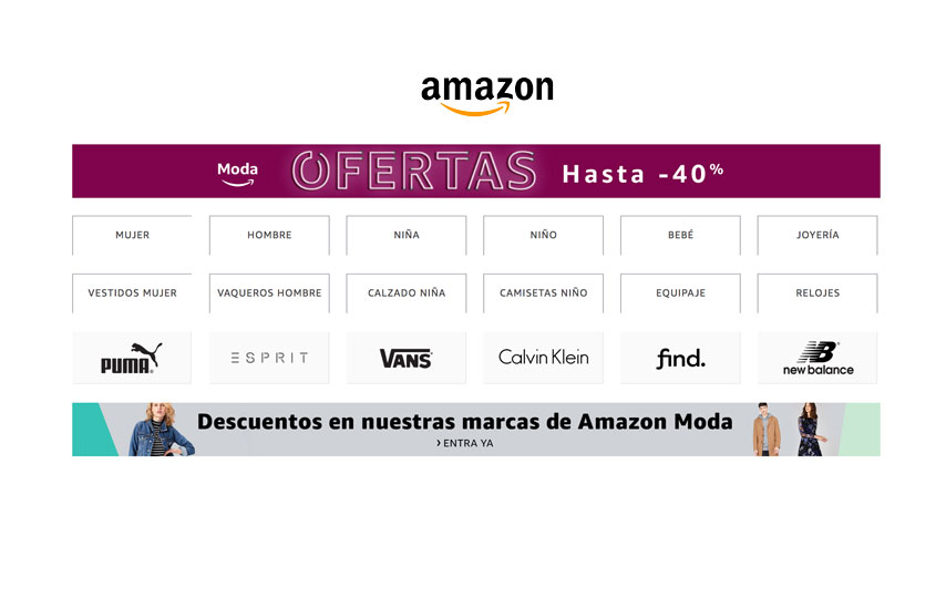 Hasta -40% Dto. Moda Amazon