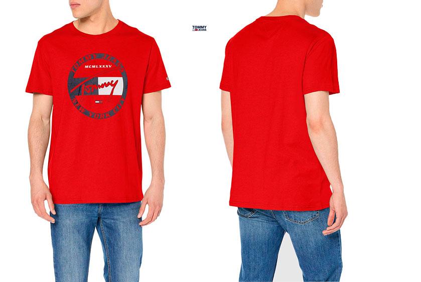 Camiseta Tommy Jeans Circle barata