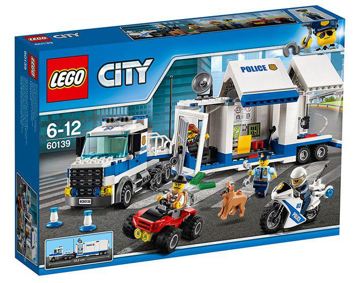 Lego City centro de control móvil barato