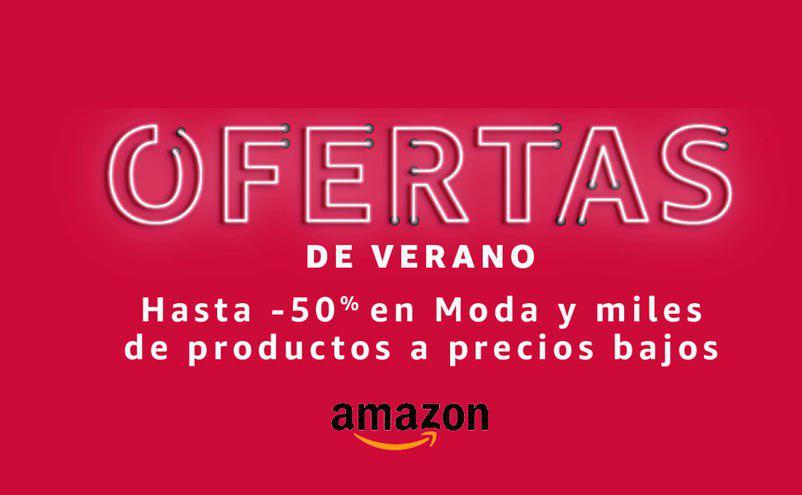 Ofertas de verano. Hasta -50% Dto. moda Amazon