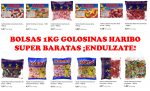 Chollazo 1kg Golosinas Haribo baratas desde 3,81€ en amazon