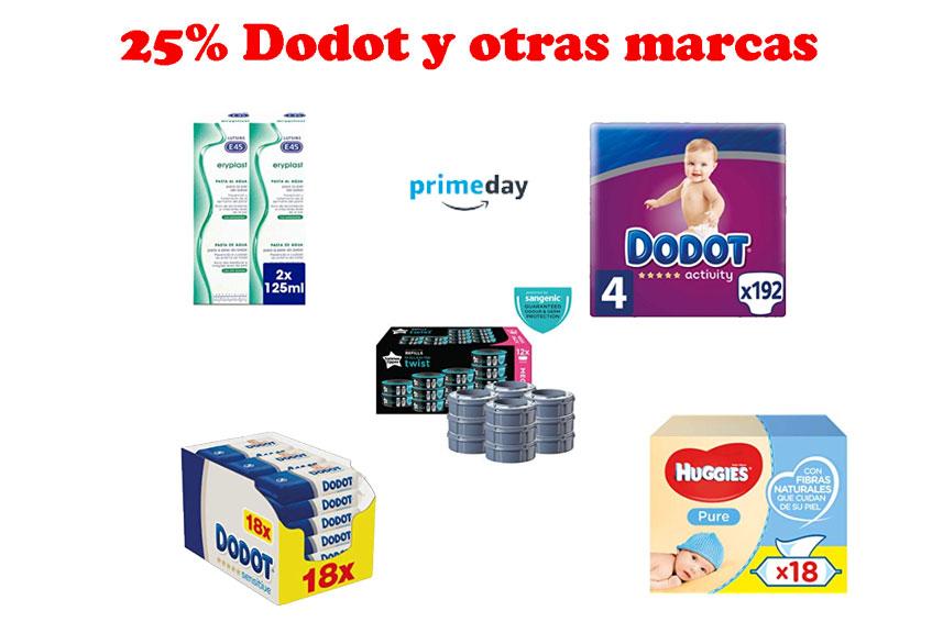 25% DODOT y otras marcas de bebé