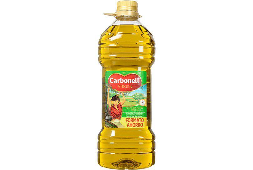 aceite de oliva Carbonell virgen 3L barato