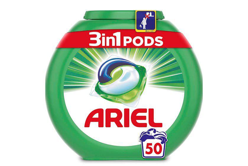 Ariel 3en1 Pods 50 lavados barato