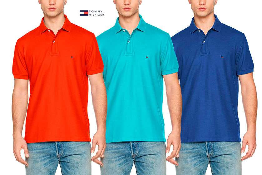 polo Tommy Hilfiger Regular barato
