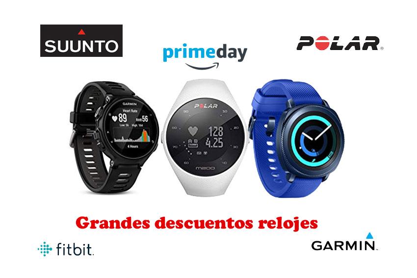 Primeday Mejores ofertas relojes