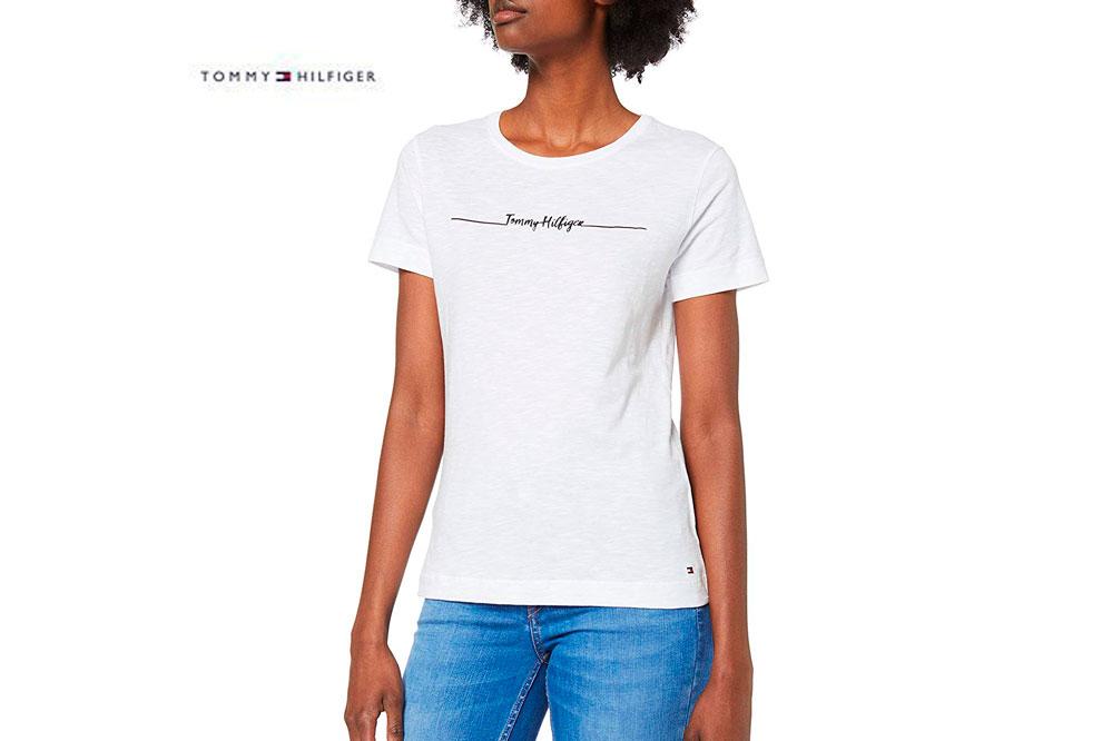Camiseta Tommy Hilfiger Elissa barata