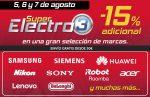 Super Electro3 El Corte Ingles con -15 descuento adicional en muchas marcas