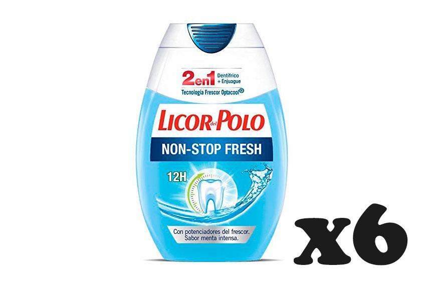 pasta dientes Licor del Polo x6 unidades baratas