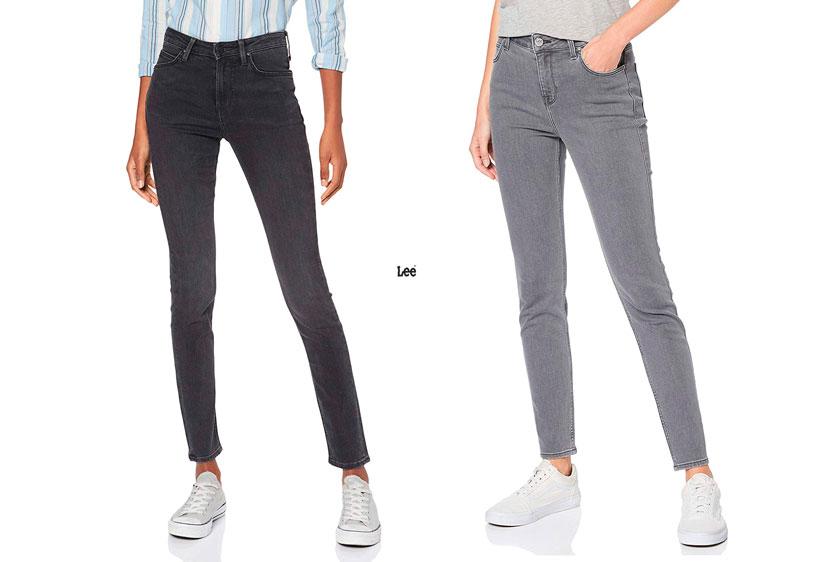 pantalones Lee Scarlett High baratos