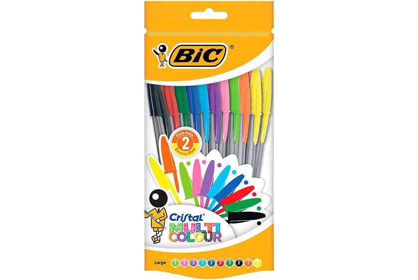 BIC cristal 20 bolígrafos punta ancha baratos