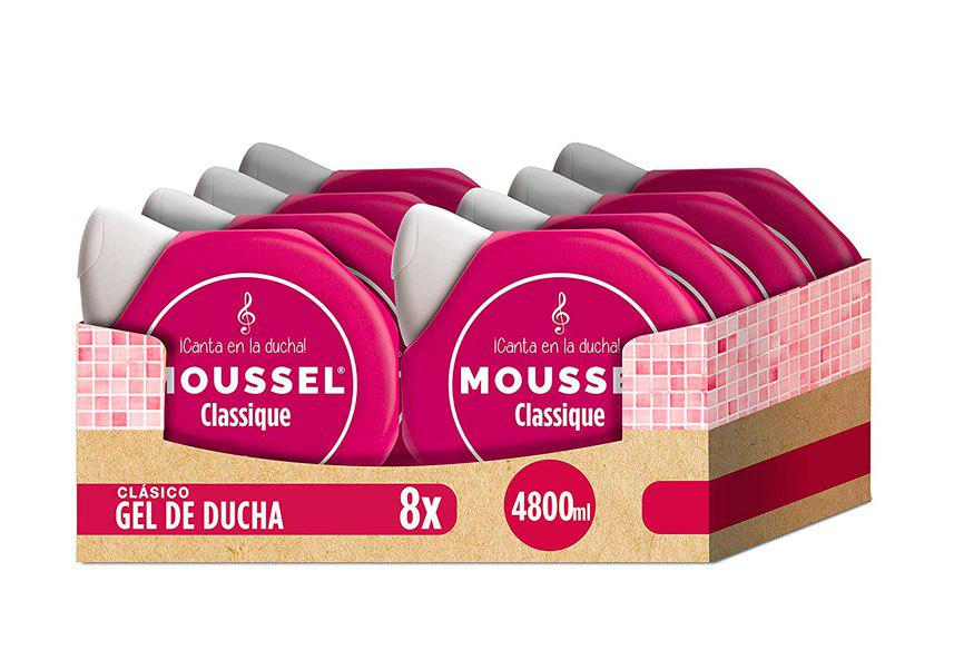 Gel Moussel 8x600ml barato