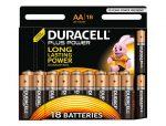 ¡Chollo! 18 pilas Duracell Pluss AA y AAA baratas 9,9€