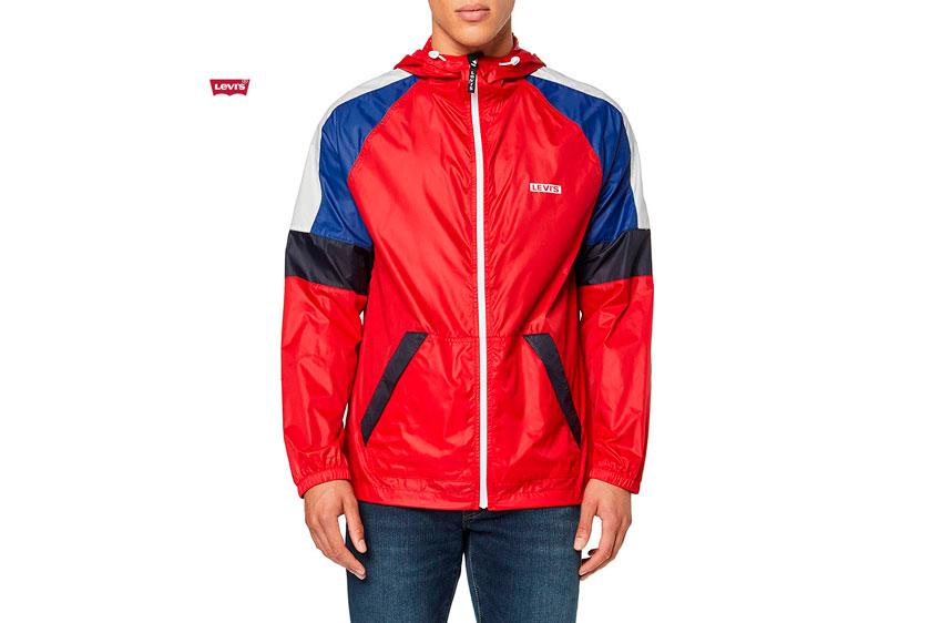 chaqueta Levis Colorblock barata